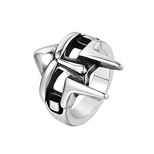Lwsdfo Sieraden accessoires modeaccessoires outdoor helm gezichtsmasker mannen titanium stalen ring sieraden Valentijnsdag geschenk sieraden cadeau