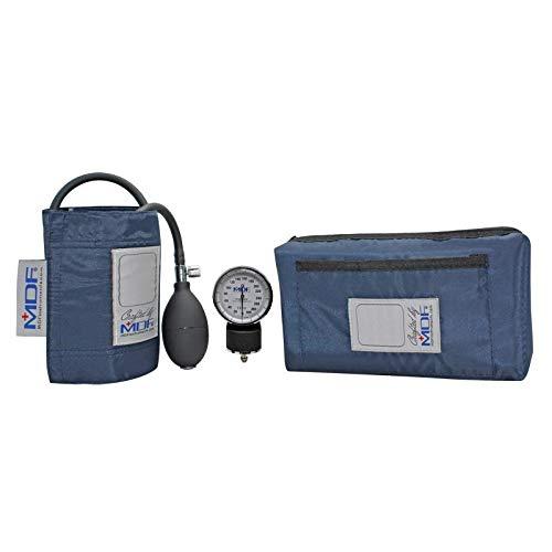 MDF® Calibra Aneroid Blutdruckmessgerät - professionelles Blutdruckmessgerät - Marineblau (MDF808M-04)