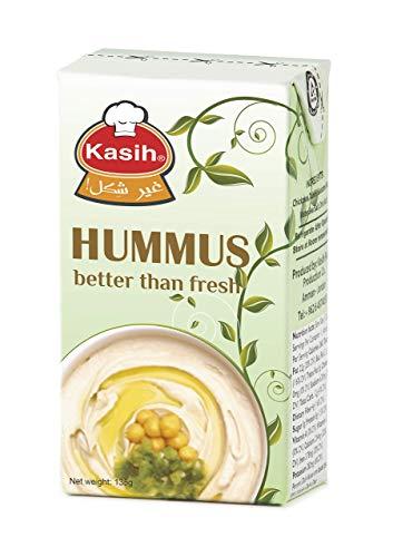 Kasih Hummus 135g (48er Pack) Vegane Kichererbsen & Tahini Dip