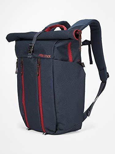 """Marmot Erwachsene City Rucksack mit Laptop Fach (Max. 15""""), Daypack, Tagesrucksack, Fassungsvermögen Colma, Total Eclipse/Claret, 24 L, 39140"""