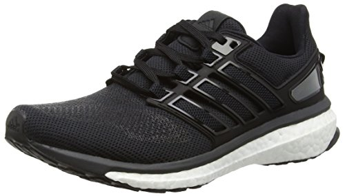 Adidas Energy Boost 3, Zapatillas de Running para Mujer, Negro/Gris (Negbas/Griosc / Grpudg), 38 EU