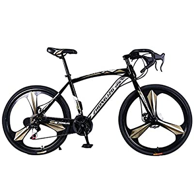 Road Bike Commuter Bike Shimano 700C Aluminum 2...