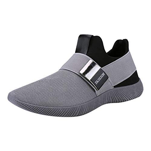 Luckycat Laufschuhe Damen Sportschuhe Turnschuhe Herren Sneakers Running Shoes Air Sport Atmungsaktiv Straßenlaufschuhe