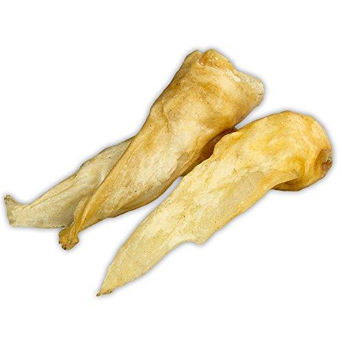 Schecker DOGREFORM Getrocknete Lamm-Ohren 250g Bei diesem Ultra-leckeren Snack sollten Feinschmecker die Ohren Spitzen