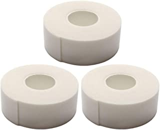 Minkissy 3pcs Eyelash Tape Extension Paper Fabric Medical Eye Lash Tape Foam Supplies for Women Ladies Female (White)