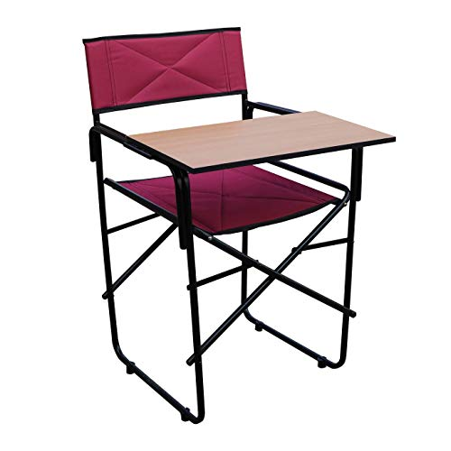 Spacecrafts Steel Folding Study Chair with Writing pad...