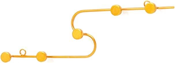 Heshan Metalen wandhanger sleutelhaak   met hangend gat   creatieve moderne kunst haak   hoed sleutel sjaal hanger