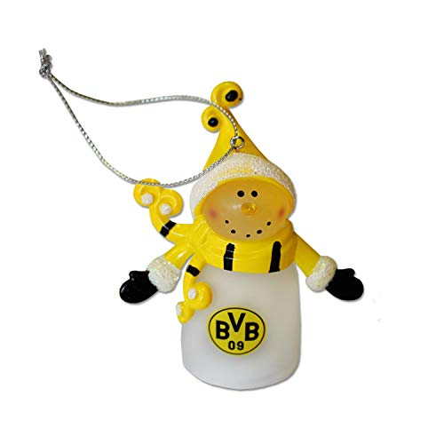 BVB Schneemann Weihnachtsmann mit LED Borussia Dortmund