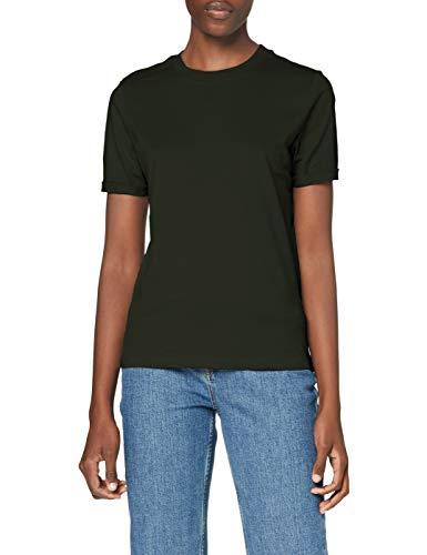 PIECES PCRIA SS Fold UP Solid tee Noos BC Camiseta, Mochila, L...