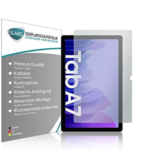 Slabo 2 x Bildschirmschutzfolie für Samsung Galaxy Tab A7 (2020) Bildschirmschutz Schutzfolie Folie No Reflexion   Keine Reflektion MATT