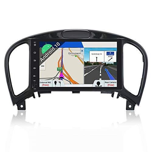 JOYX Android 10 Autoradio Compatible avec Nissan Juke J15 2012-2019 - 2G32G - GPS 2 Din - Caméra Microphone GRATUITES - Soutien Dab Commande au Volant 4G WiFi Bluetooth5.0 Carplay Mirrorlink Google