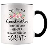 Top 30 Best great grandma Mugs