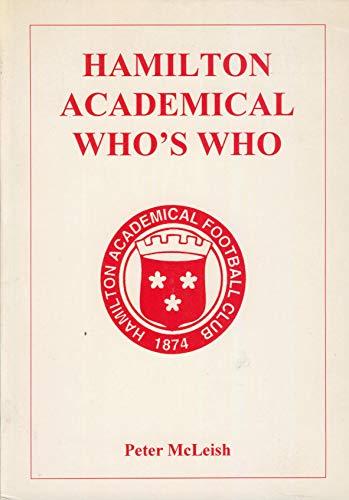 Hamilton Academical Who's Who: 1946/47-1996/97
