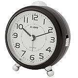 CASIO(カシオ) 目覚まし時計 ダークブラウン 9×8.4cm アナログ 小型 TQ-149-5JF