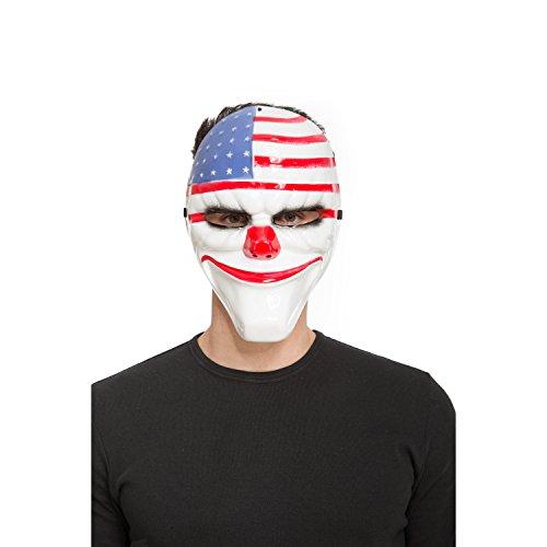 Viving Costumes 204576 - Máscara de la película The Purge: La Noche de Las Bestias (Talla única)