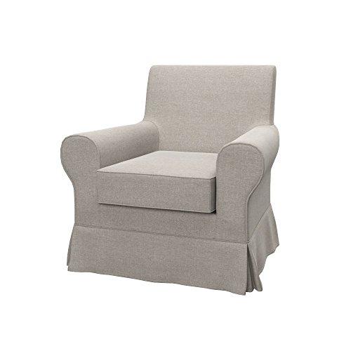 Soferia - IKEA EKTORP JENNYLUND Funda para sillón, Classic Dark Beige