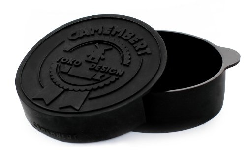 Yoko Design 1234 Cuit Camembert Silicone/Platine Noir 4,30 cm