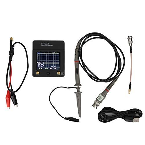 EVTSCAN Ultimo Oscilloscopio per Tablet, Oscilloscopio Digitale Portatile Touch Screen DSO112A Tablet Frequenza di Campionamento 5 Msps 3.3V