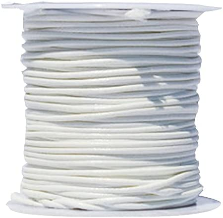 FC-05404 DIY-Jewelry 1mm White price Wax Beading 5 ☆ popular Rop Thread Waxed Cord