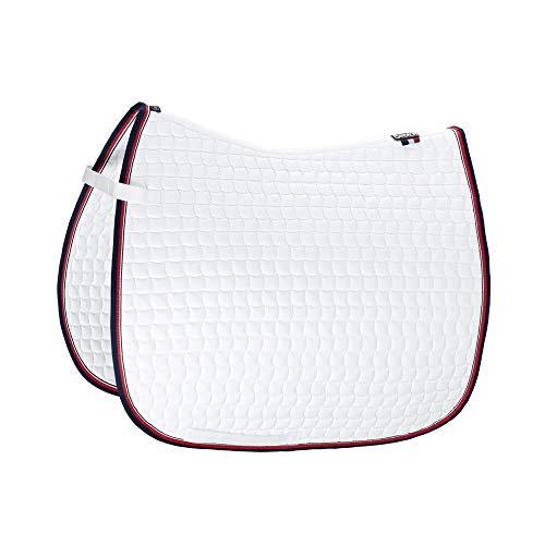 Eskadron Basic Cotton Schabracke in White, Farbe:White, Größe:Vielseitigkeit (VS)