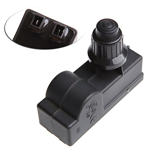 jiheousty BBQ Gasgrill Ersatz 2 Outlet AAA-Batterie Push Button Ignitor Igniter Neu