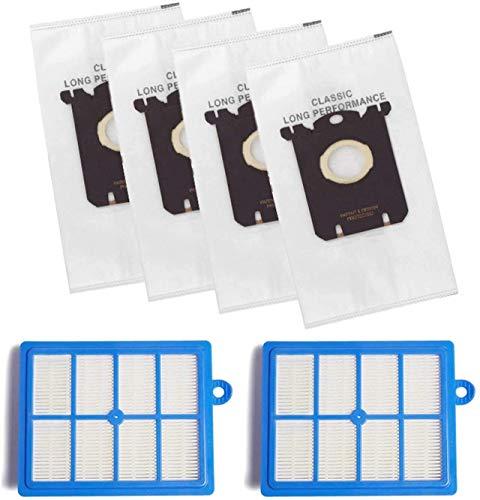 Accesorios de limpieza H12 Filtro y bolsa de filtro de polvo para Philips Fit para Electrolux Robot Aspiradora Accesorios (color: HXL2024) (color: Hxl2023) Kit de cepillo (color: Hxl2024)