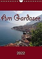 Am Gardasee (Wandkalender 2022 DIN A4 hoch): Impressionen vom Gardasee (Monatskalender, 14 Seiten )