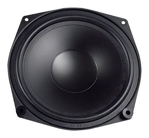 Visaton VS-WS20E/4 - Altavoces (Alámbrico, 80 W, 4 Ω, Negro)