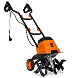 WEN TC0714 7-Amp 14.2-Inch Electric Tiller and Cultivator, Black