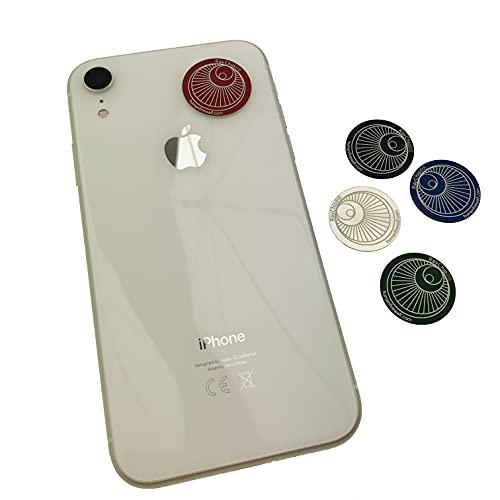 RayChip RCMIX5SZT - 5 pegatinas adhesivas para teléfono móvil, smartphone, tableta, ordenador, router, protección contra radiación, 4G, 5G, LTE, GSM, WiFi, EMF, electromagnético, smog