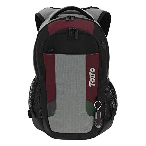 Totto MA04IND660-1710F-NGR Laptop Backpack 13 Inch Kriptone