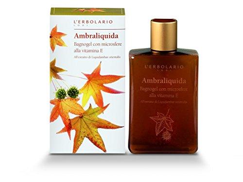 L'Erbolario Ambraliquida Bade und Duschgel, 1er Pack (1 x 250 ml)