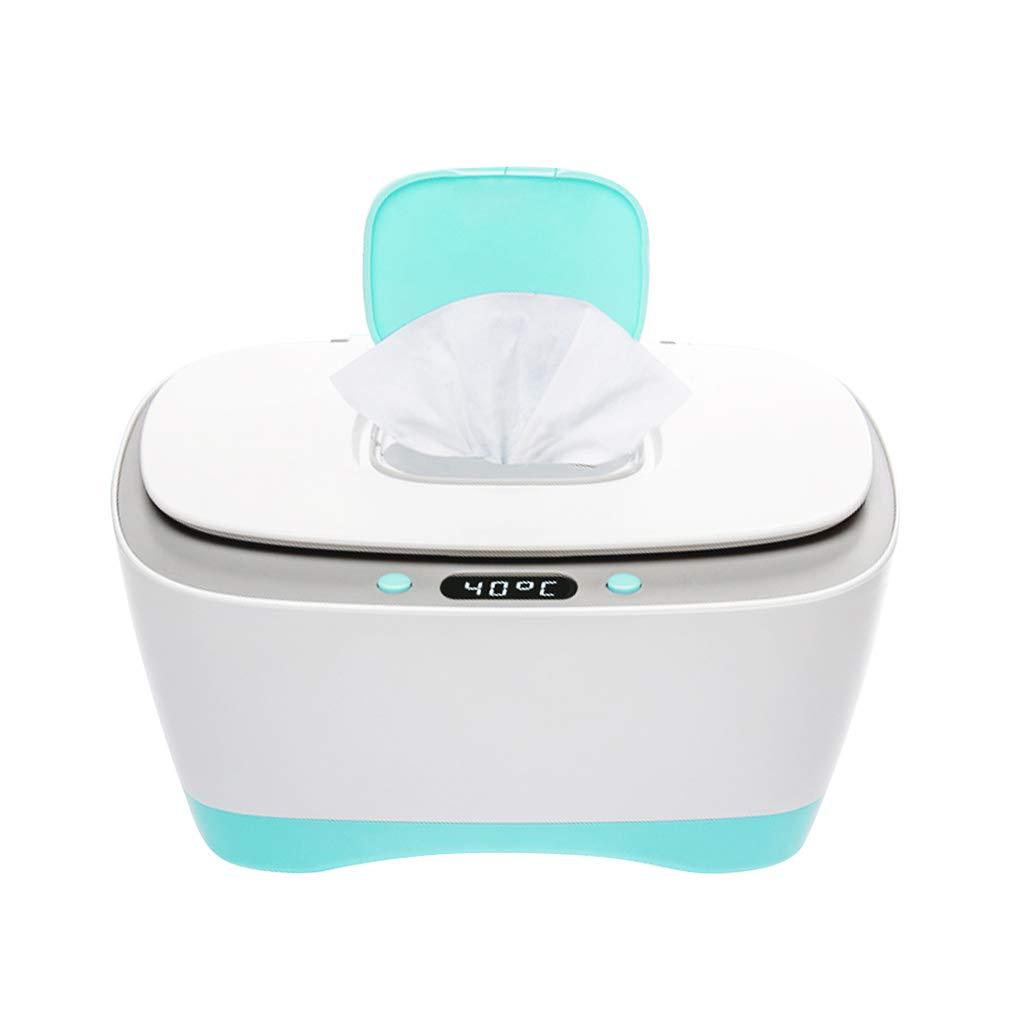 Calentador de toallitas húmedas para bebés, Estuche para toallitas húmedas para bebés, dispensador de toallitas húmedas para bebés con Calentamiento de Vapor con Pantalla de Temperatura integrada: Amazon.es: Hogar