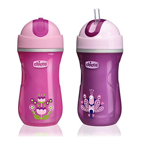 Chicco Insulated Flip-Top Straw Sippy Cup
