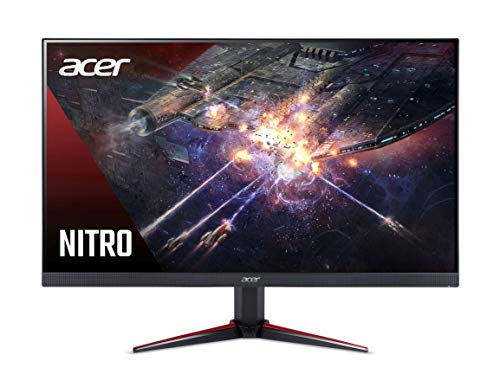 Acer Nitro 23.8 inch Full HD 1920 x 1080-0.5 MS Response Time - 165 Hz Refresh Rate IPS Gaming...