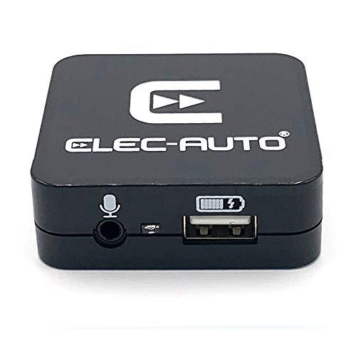 Interfaz Bluetooth y auxiliar compatible con Audi, Seat, Skoda, Volkswagen con toma quadlock   Kit manos libres Streaming Audio   Cargador smartphone   Carcasa empotrable invisible
