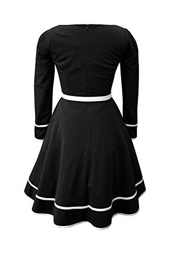 'Grace' Vintage Clarity Kleid im 50er-Jahre-Stil - 2