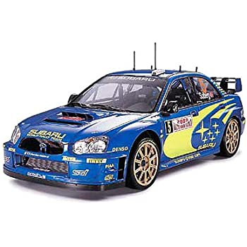 タミヤ 1/24 スポーツカーシリーズ No.281 スバル インプレッサ WRC モンテカルロ 2005 プラモデル 24281