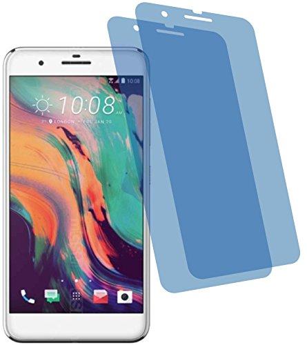 4ProTec I 2X Crystal Clear klar Schutzfolie für HTC One X10 Dual SIM Premium Bildschirmschutzfolie Displayschutzfolie Schutzhülle Bildschirmschutz Bildschirmfolie Folie