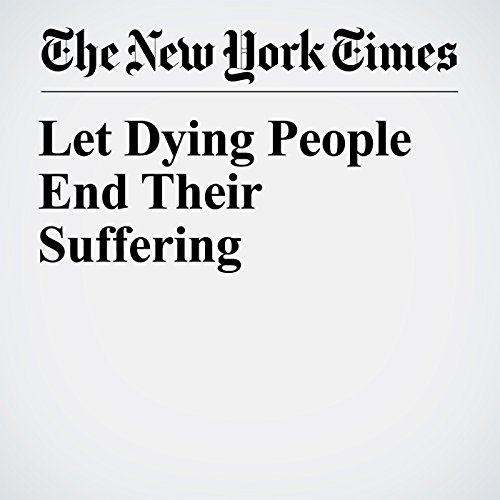 Let Dying People End Their Suffering copertina