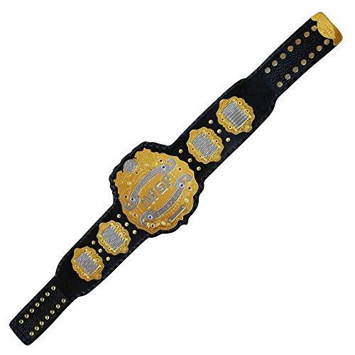 Brand New IWGP Heavyweight Championship Title Belt Gold Plated Adult Size