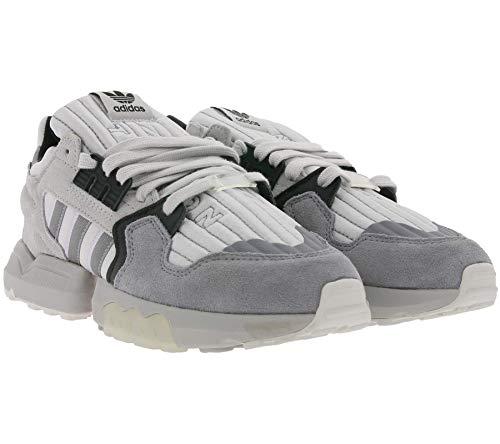 adidas Originals ZX Torsion - Zapatillas retro para mujer, zapatillas de ocio, color gris, color Gris, talla 41 1/3 EU