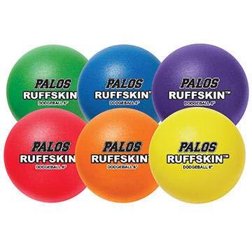 "Palos Sports RuffSKIN 6"" Foam Dodgeball Set of 6"