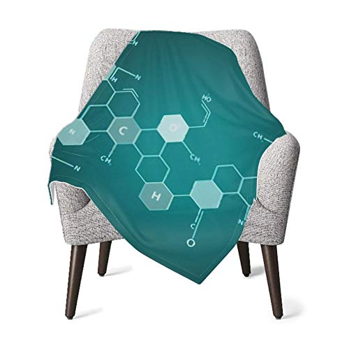 XCNGG Mantas para bebés edredones para bebésBaby Blanket Chemistry Science Formula On Book Vector Fluffy Blankets Receiving Blanket for Toddler Bed, Crib, Stroller, Nursery Bedding Essentials 30x40in