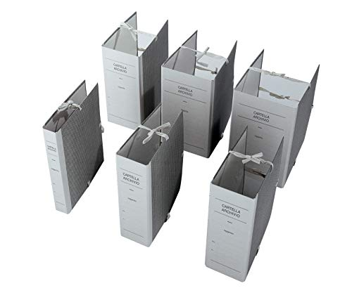 Cartelle archivio con lacci, Dorso 15, cm 25x35, faldoni in Confezione da 25 pezzi