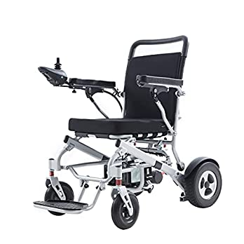 Deluxe Sport Electric Wheelchairs, Automatic Fold and Unfold with Remote Control, 500W Motor Power, Longer Range (up to 20miles), Weatherproof