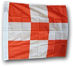 Airfield Vehicle Safety Flag - 3' x 3' Nylon Flag