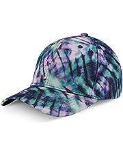 LIVACASA Gorras de Béisbol para Hombres Mujeres Deporte al Aire Libre Correr UV Protección para Verano Estampado Florales 1 Pcs54-60cm