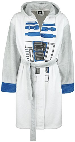 Star Wars R2-D2 Bata Multicolor One Size, 100% poliéster, Bolsillos Laterales
