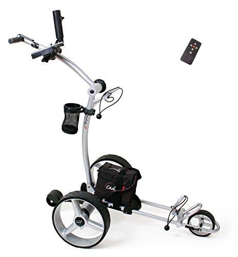 Elektro Golf Trolley CADDYONE 650 mit Funkfernbedienung und Lithium-Akku
